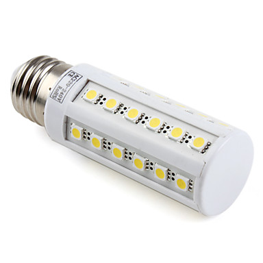 4000lm E26 / E27 LED Mısır Işıklar T 36 LED Boncuklar SMD 5050 Sıcak Beyaz 220-240V
