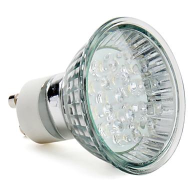 1W GU10 Faretti LED MR16 15 LED ad alta intesità 75 lm Bianco AC 220-240 V