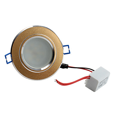 W 10 SMD 5730 500 LM Warm White Recessed Retrofit Recessed Lights / Ceiling Lights AC 220-240 V