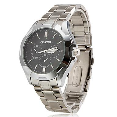 Women's Water Resistant Alloy Analog Quartz Wrist Watch (Silver)
