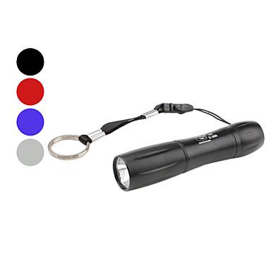 hymyilevä hai ss-5009a mini 1-tilassa LED-taskulamppu (1xAA, eri värejä)