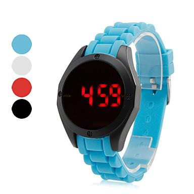unisex fashionabla digital LED silikon stil armbandsur (blandade färger)