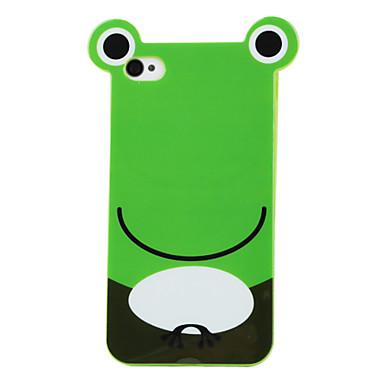 Case Dura para iPhone 4 e 4S - Sapo (Verde)