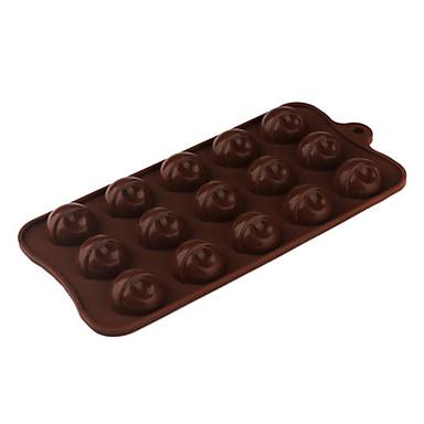 şeker / çerez / jöle / çikolata için silikon altın külçe şeklindeki Sugarcraft kalıp