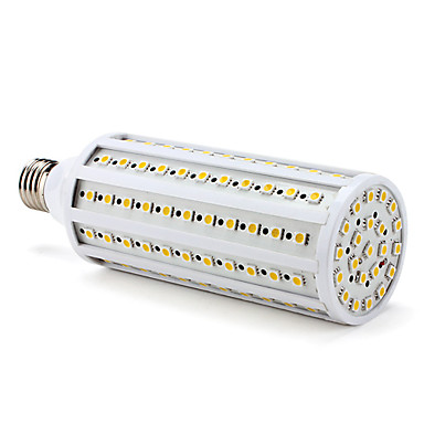 3000lm E26 / E27 LED Mısır Işıklar T 132 LED Boncuklar SMD 5050 Sıcak Beyaz 220-240V