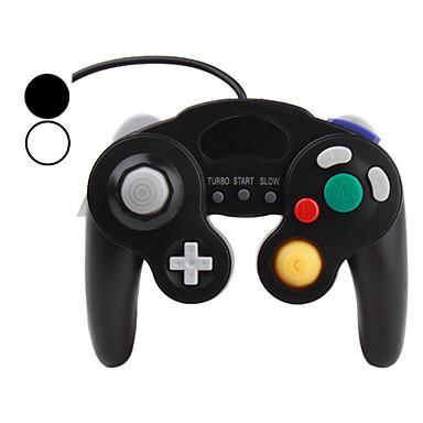 kabelforbundet turbo chok spil controller til GameCube NGC og wii / wii u (assorterede farver)
