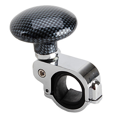 Lattice Pattern Car Suicide Knob Steering Wheel Ball Spinner Handle