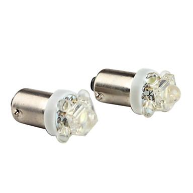 1156 0.15W 4 +1 bulbo branco levou luz para o carro indicador lâmpadas canbus (2-pack, dv 12v)