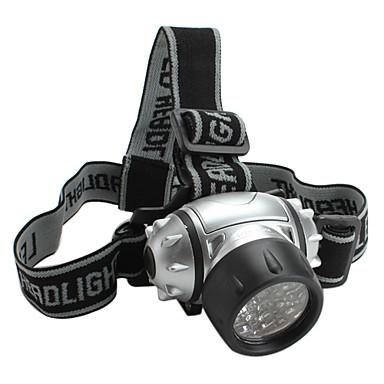 LED Lommelygter / Hovedlygter LED 4.0 Tilstand Lumens Andre AAA Andre , Sølv Plastik