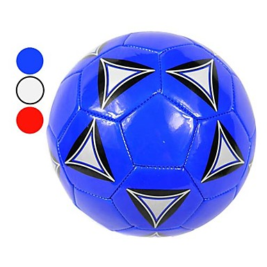 Machine Stitched PU Soccer Ball for Training (Size 5, 3 Colors Available)