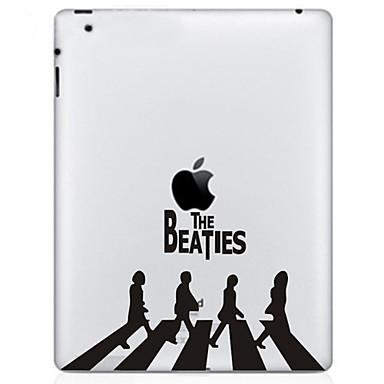 5 Pças. Protetor Traseiro Protectores de Tela para Brincadeira Com Logo da Apple iPad 2 O Novo iPad
