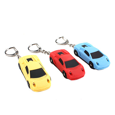 araba ses ve ışık Anahtarlık (rastgele renk)