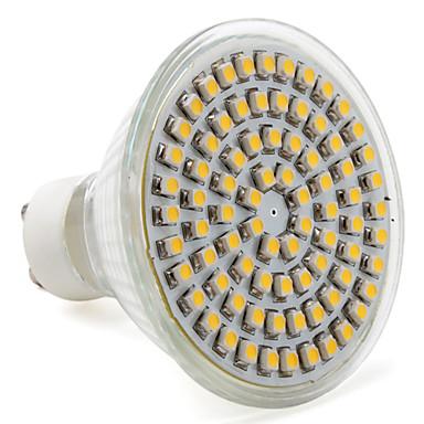 4 W- MR16 - GU10 - Spotlamper (Warm White 250 lm- AC 220-240