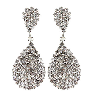 Women's Rhinestone Drop Earrings - Earrings For Daily