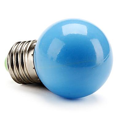 50lm E26 / E27 LED Küre Ampuller G45 LED Boncuklar Yüksek Güçlü LED Mavi