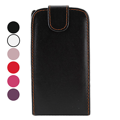 PU Leather Case for Samsung Galaxy S2 I9100 (Assorted Colors)