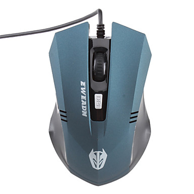 Accurate Gaming 2000dpi Optical Mouse with 6 Hot Keys (1000/1200/1600/2000dpi)