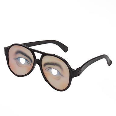 Männer Auge Drucklinse Witz lustig Gläser für Halloween Costume Party