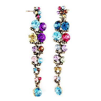 Women's Drop Earrings / With Gift Box - Resin Flower Blue For Party / Holiday / 3 Pairs