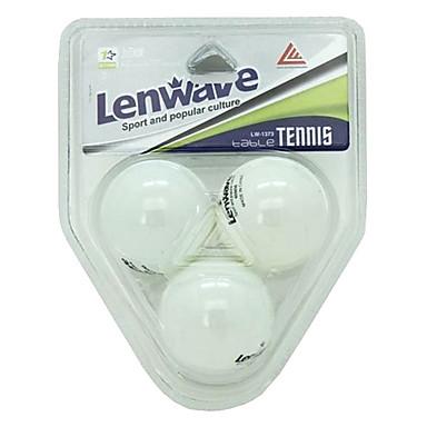 lenwave blanco tenis de mesa de ping-pong (3 piezas)