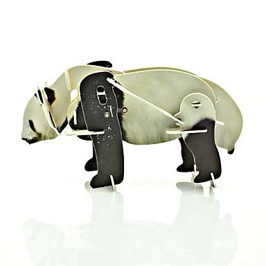 Panda móvil rompecabezas 3D Plastic Toy Wild Animal