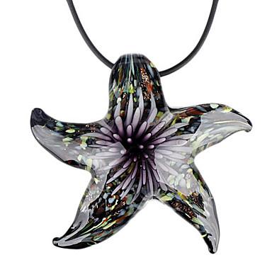 estrella de mar romántico colgante collar