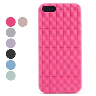 아이폰 5/5S (분류 된 색깔)를위한 돌출 포인트 디자인 TPU 연약한 케이스