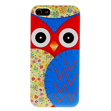 Pöllö kova kuori iPhone 5:lle