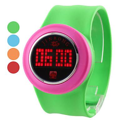 Unisex Cool Touch-Screen Plastic Digital LED Wrist Fashion Watch (verschiedene Farben)