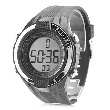 unisex in gomma digitale automatico da polso sportivo orologio (nero)