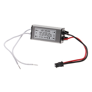 Agua 3W LED resistente Constant Current Power Supply Fuente conductor (85-265V)