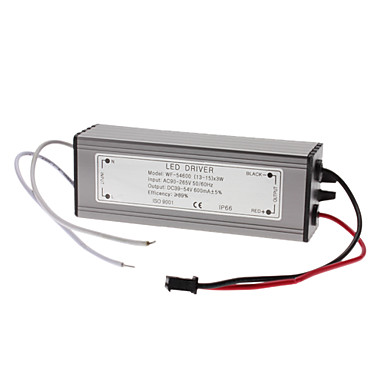 Resistente al agua 39-45W LED de corriente constante fuente de alimentación del controlador (85-265V)