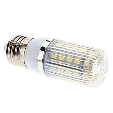 E26/E27 LED Corn Lights T 36 SMD 5050 630lm Natural White 6500K AC 85-265V