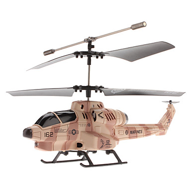 3,5-channle kobra missiler skytte gyro ir kontroll helikopter (modell: u809)