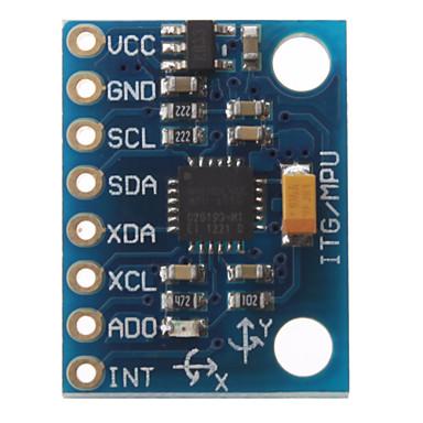 GY-521 MPU6050 3 eixos de Aceleração Gyroscope Módulo 6DOF (azul)