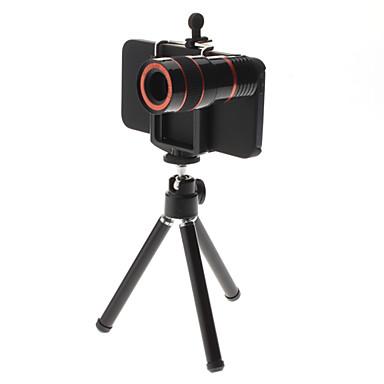 Aluminium Objektiv med lång brännvidd 8X 30*70 3 16 Objektiv med stativ iPhone 5