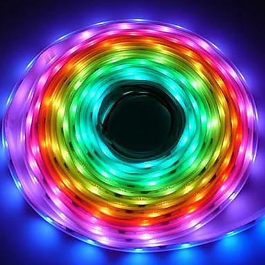 hkv® led strip 5050 rgb pixeli culoare vis inteligent ip67 impermeabil led benzi conduse de benzi lumina