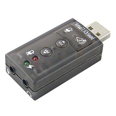 USB pour audio Bleu Cristal carte son