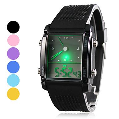 Men's Watch Sports LED Analog-Digital Display Multi-Function Cool Watch Unique Watch Fashion Watch