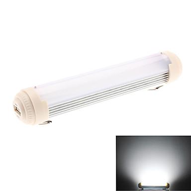 kannettava 4W 400-440lm luonnon valkoinen valo 8 valaistustilaa Ladattava LED lamppu (100-240v/usb)