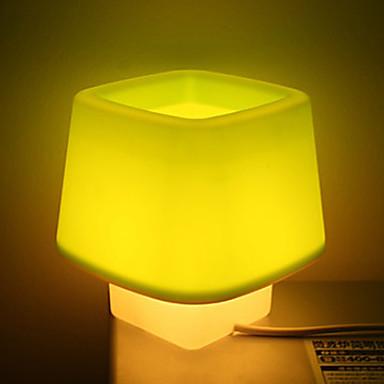 Simple Cubic Design Desktop Lamp Night Light (220V, Random Color)