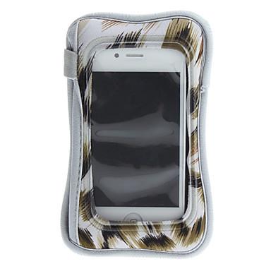 iphone 5/5s ve diğerleri için kaplan cilt desen neopren kılıf