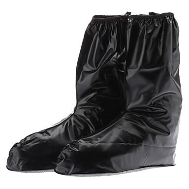 De caucho negro impermeable al aire libre / no-slip Shoe Covers for Men