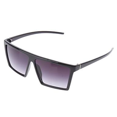 OREKA Fashion Gray Square Lens Black Frame Sunglasses