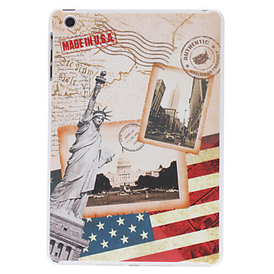 Statue of Liberty Pattern Hard Case for iPad mini