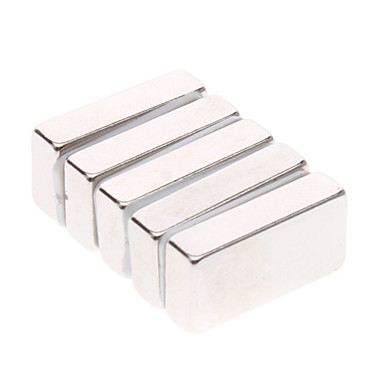 5 pcs 20*10*5mm Magnet Toy Building Blocks / Puzzle Cube / Neodymium Magnet Magnet Magnetic Gift