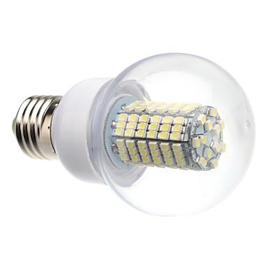 8W E26/E27 LEDボール型電球 G60 138 SMD 3528 620 lm ナチュラルホワイト 交流220から240 V