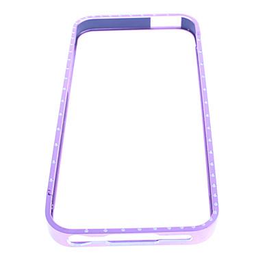 Metal Zircon Bumper Case for iPhone 5/5S(Assorted Colors)