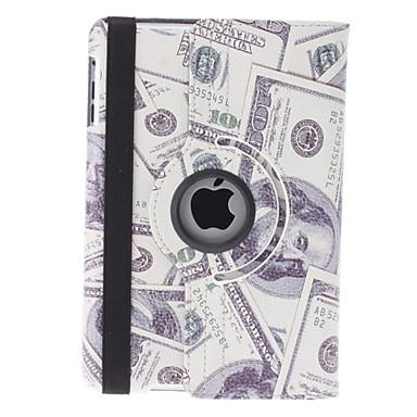 Dólar Padrão Capa de Couro PU com suporte para mini iPad