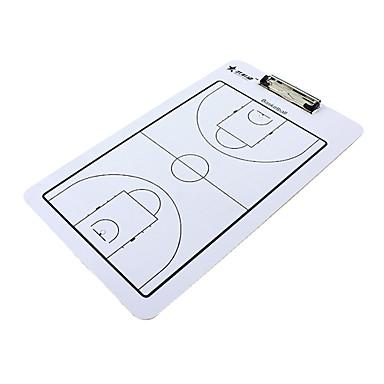 Double-Faced Conselho de Coaching Basquetebol com 2 canetas e um Eraser